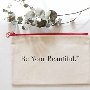 "Beautycounter ""Be Your Beautiful"" Pouch w/ SAMPLE!"